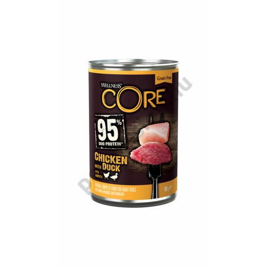 Wellness Core Dog Csirke és Kacsa 400g