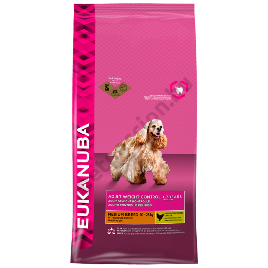 Eukanuba Adult Weight Control Medium Breed