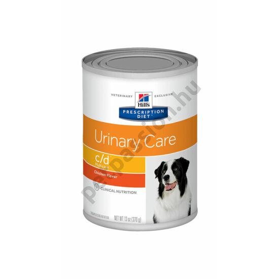 HILLS PD Canine C/D 12kg - Struvit és Kalcium-oxalát húgykövesség