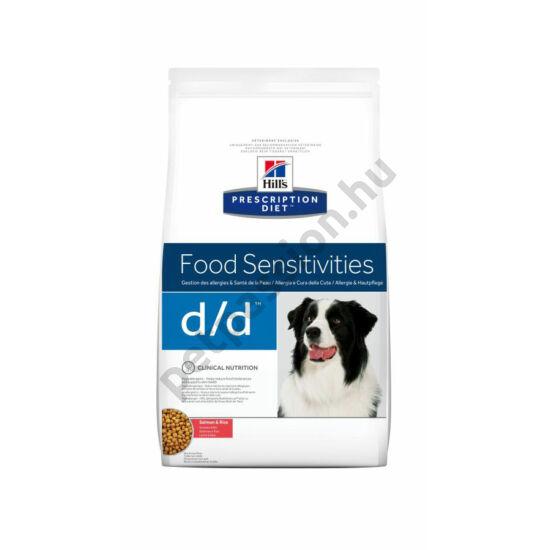 HILLS PD Canine D/D - lazac és rizs