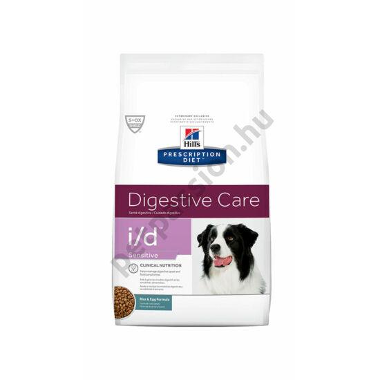 HILLS PD Canine I/D Sensitive Tojás és rizs 12kg