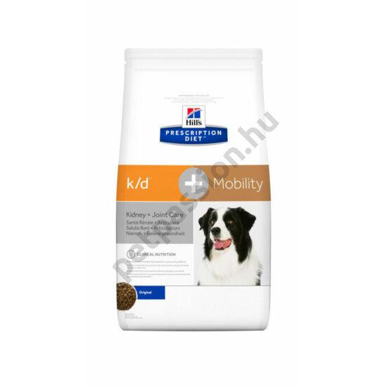 HILLS PD Canine K/D + Mobility 12kg