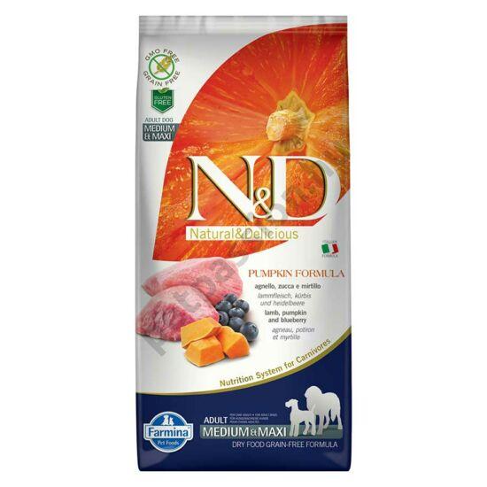 N and D Dog Grain Free Pumpkin Bárány és Áfonya Adult Medium/Maxi