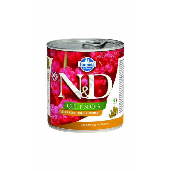 N&D Dog quinoa fürj kókusszal 140g