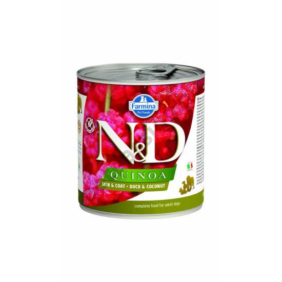 N&D Dog quinoa kacsa kókusszal 140g
