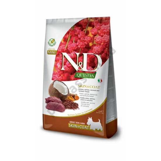 N and D Dog Quinoa Skin&coat Venison Adult Mini