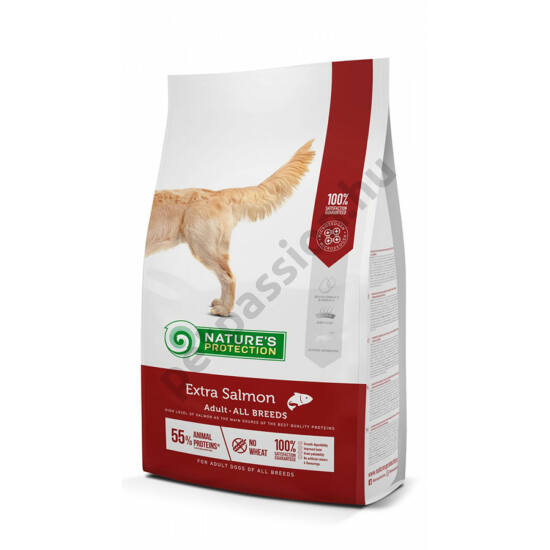 Nature's Protection Dog Extra Salmon 12+3kg