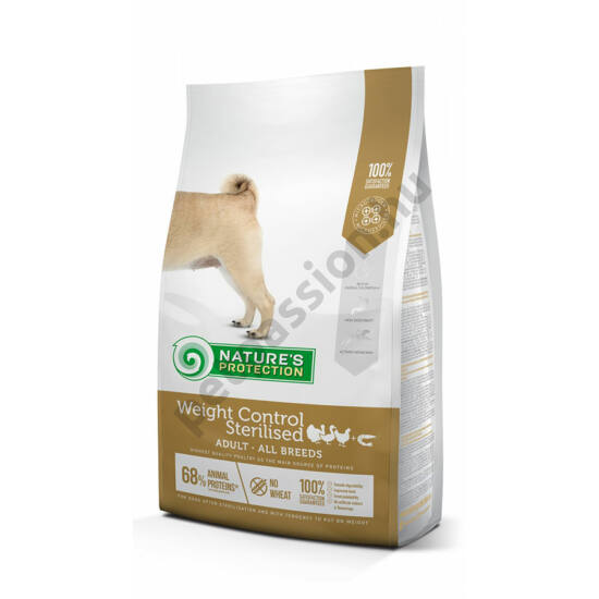 Nature's Protection Dog Weight Control Sterilised 12kg