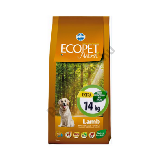 Ecopet Natural Adult Lamb Maxi 12+2 kg