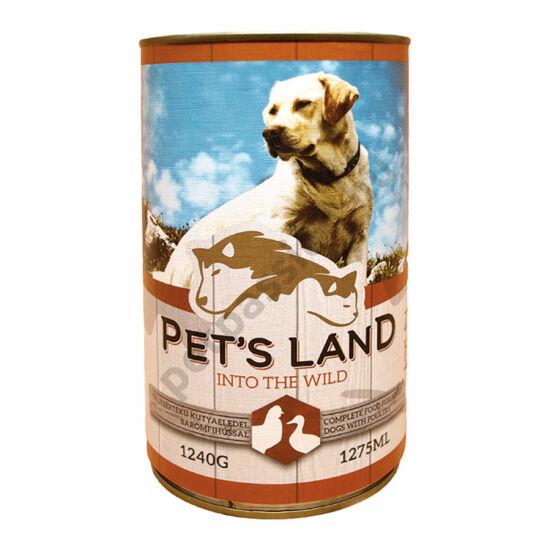 Pet's Land Dog Konzerv Baromfihússal 1240g
