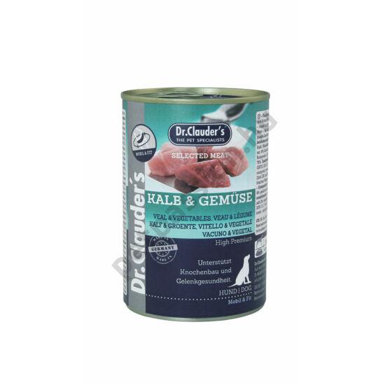 Dr.Clauder's Selected Meat Borjú-Zöldség 400 g