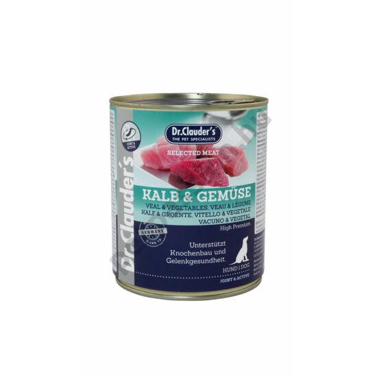 Dr.Clauder's Selected Meat Borjú-Zöldség 800 g
