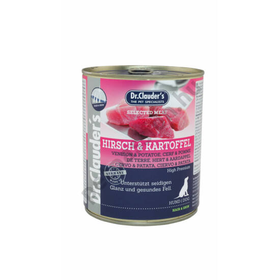 Dr.Clauder's Selected Meat Szarvas-Burgonya 800 g