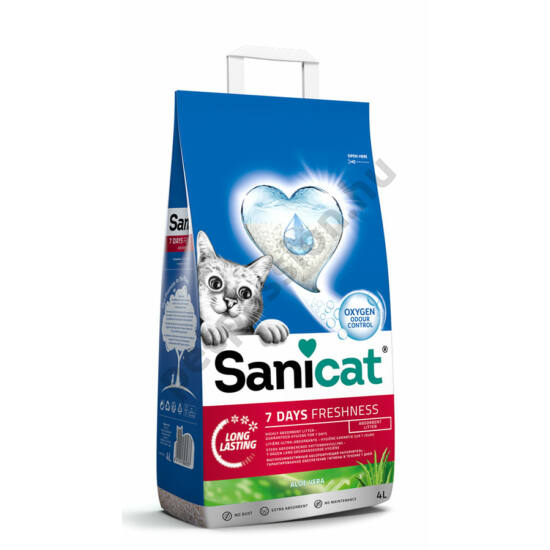 Sanicat 7 Days Aloe Vera Freshness 4L
