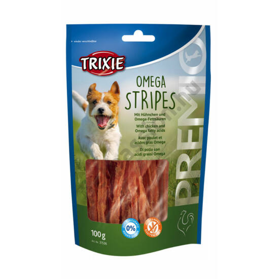 Trixie Premio Omega Stripes Csirkés 100gr