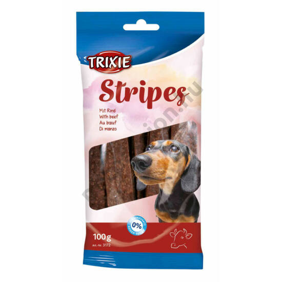 Trixie Stripes marhás 100g