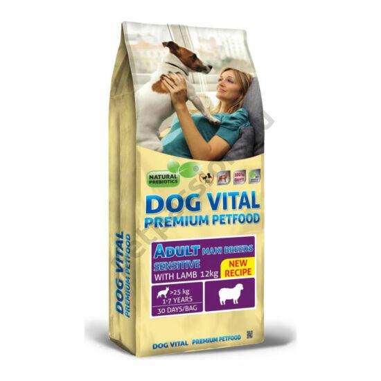 Dog Vital Adult Maxi Breeds Bárány és Rizs 12 kg