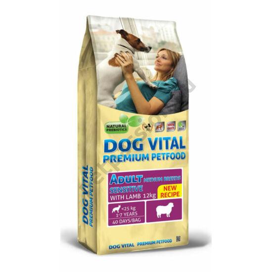 Dog Vital Adult Medium Bárány és Rizs 12 kg