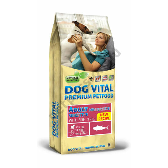 Dog Vital Adult Sensitive mini hal 12 kg