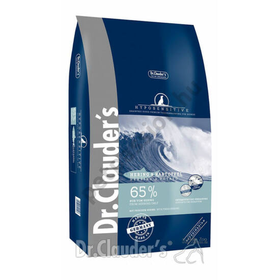 Dr.Clauders Hyposensitive Hering és Burgonya 11,5kg