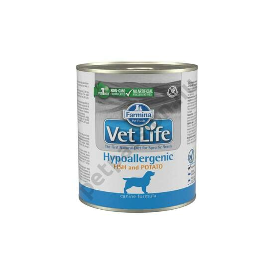 Vet Life Dog Hipo Fish and Potato