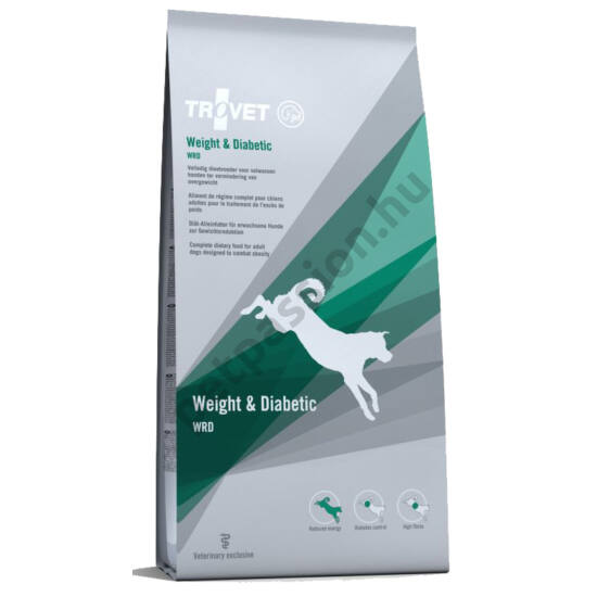 TROVET Weight & Diabetic (WRD) 2x12,5 kg